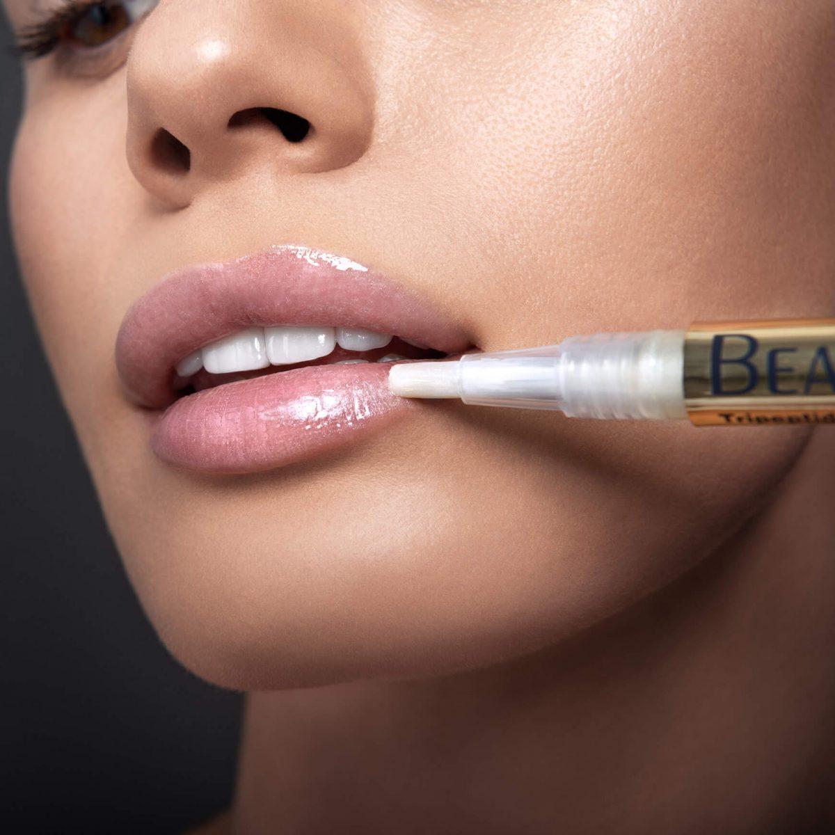 Repulpant lèvres au collagène tripeptides présentation