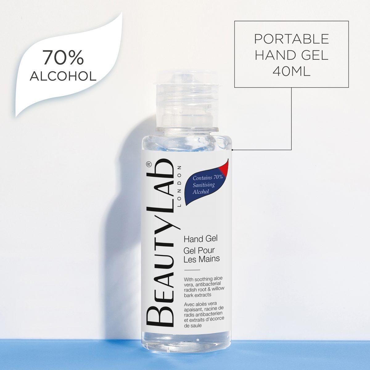 Gel hydroalcoolique 40ml 70% Alcool